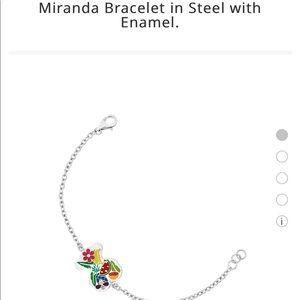 Tous Miranda Bracelet in Steel with Enamel